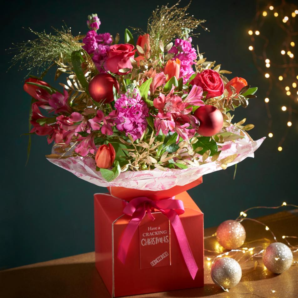 Christmas Cracker Gift Box with Chocs