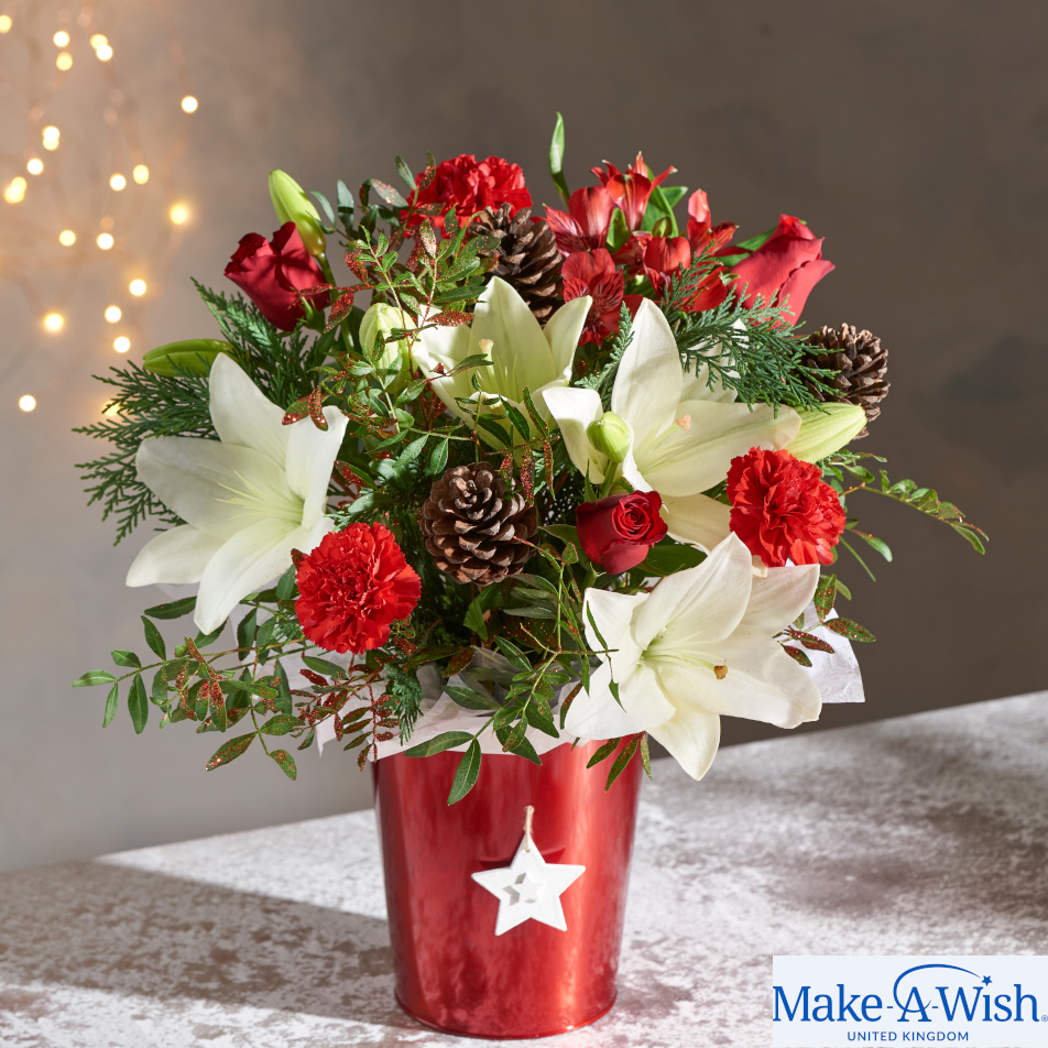 December Bouquet of the Month with Chocs