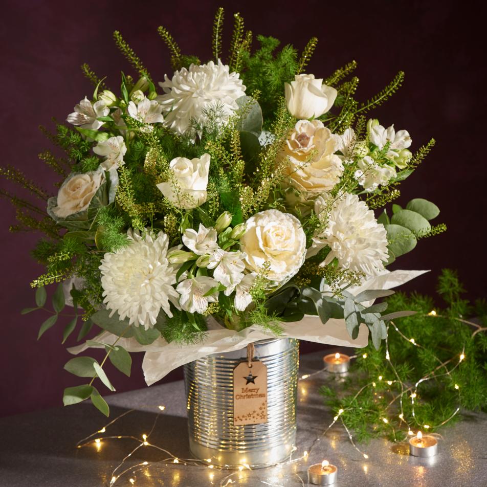 White Shiny Pail