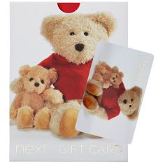 Teddy With Baby Gift Card