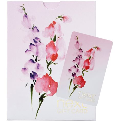 Purple Flower Gift Card