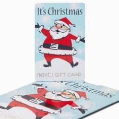 Retro Santa Gift Card