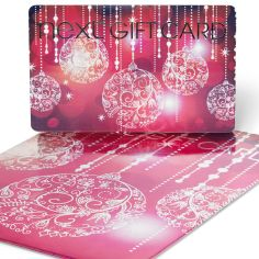 Pink Baubles Gift Card